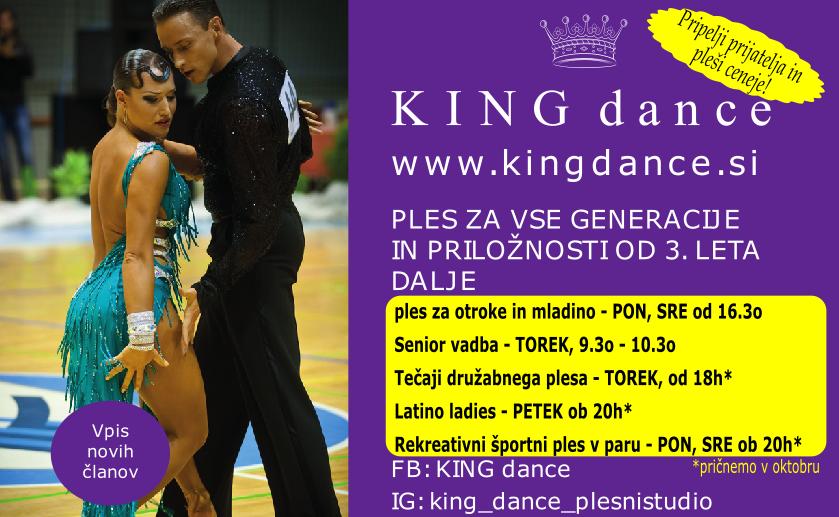Vpisi 2020-2021 King Dance